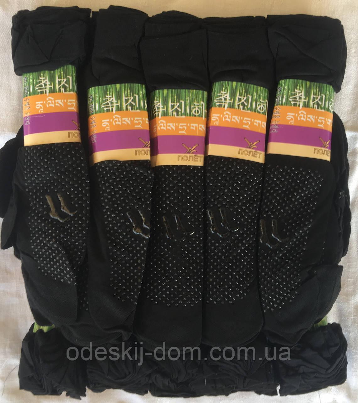 Носок капроновый с тормозами 40den чёрные