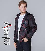 Весенняя куртка мужская 1362 красный 56