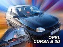 Дефлекторы окон (ветровики)  OPEL CORSA 1993-2001r (HEKO)