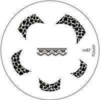 Диск для стемпинга Konad Image Plate M087, фото 1