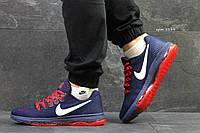 Мужские кроссовки Nike Air Zoom  найк зум синие- Сетка,подошва резина(низ подошвы силикон) р:41-45Вьетнам , фото 1