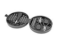 Набор инструментов, 19 предметов в футляре в виде автомобильной шины (492107_OS)