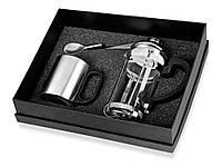 Набор: заварочный чайник на 350 мл, кружка на 200 мл, чудо-ложка, которую можно «посадить» на чашку (821520_OS)