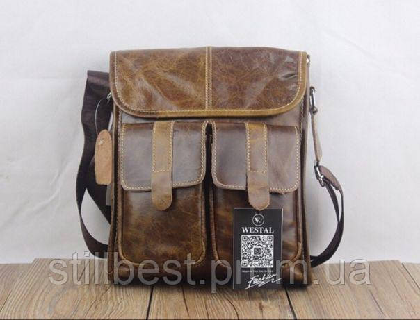 8e6ea6c6bbc2 Мужская сумка Westal из НАТУРАЛЬНОЙ КОЖИ : продажа, цена в Львове ...