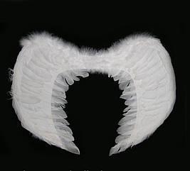 Крылья Ангела Большие 40х60 см (белые)