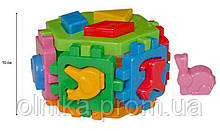"Головоломка-куб розумний малюк гексагон ""Технок"""