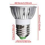 Лампа светодиодная E27 3Вт 6000К/3000K 220В, фото 4