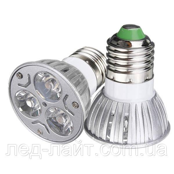 Лампа светодиодная E27 3Вт 6000К/3000K 220В