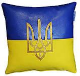 Подушка сувенірна декоративна з вишивкою корони, фото 5