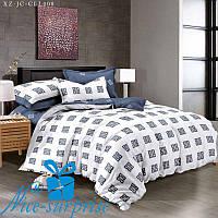 Двуспальный комплект постельного белья из сатина АЙВЕНГО (150*220)