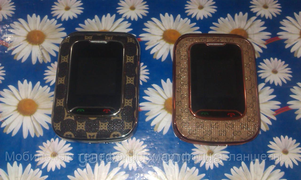 Женский телефон-раскладушка Louis Vuitton H888 mini  HYTLL (2 сим-карты, Луи витон)