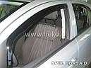 Дефлекторы окон (ветровики)  OPEL CORSA 2006R → (HEKO), фото 8