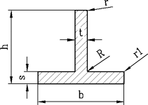 Т-образний алюмінієвий профіль - Тавр   Виробництво під замовлення