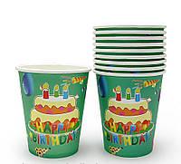 Бумажные стаканчики Тортик (уп. 10шт)