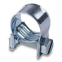Хомут посилений МІНІ 14-16 мм 50шт/упак гвинтовий оцинкований (mini)