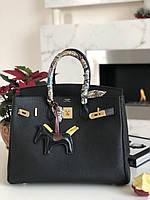 Елегантная женская сумка Гермес Биркин 35 см золото (реплика), фото 1