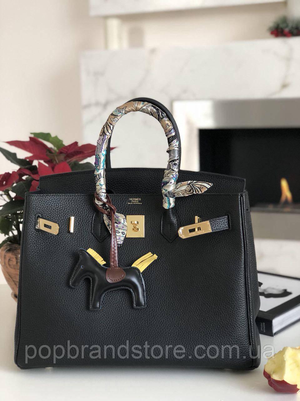 c713554e599e Елегантная женская сумка Гермес Биркин 35 см золото (реплика ...