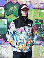Куртка Supreme x The North Face Blue Map Унисекс Реплика