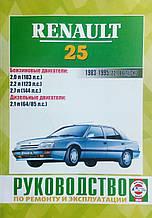 RENAULT 25   Модели 1983-1995 гг.   Руководство по ремонту и эксплуатации