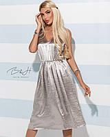 Женское летнее платье-сарафан чуть ниже колена. ТМ B&H