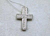 Крест с камнями серебро 925 проба АРТ3205, фото 1