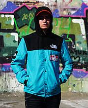 Куртка Supreme x The North Face Blue Унисекс Реплика