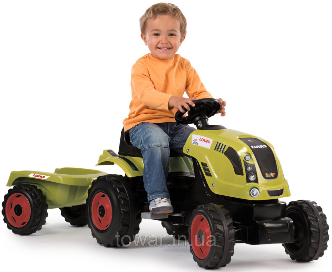 Трактор с прицепом SMOBY CLASS XL TRAILER 710114