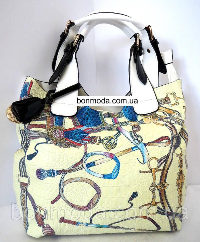 b158e8374b10 Женская сумка разноцветная Velina Fabbiano, цена 690 грн., купить в ...