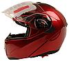 Мотошлем FXW HF-118 Красный глянец