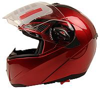 Мотошлем FXW HF-118 Красный глянец, фото 1