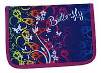 Пенал твердый Butterfly 1 отдиления 2 отворота + расписание JO-18082