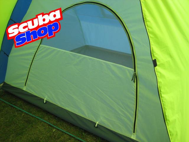 Палатка шестиместная Green Camp 1002, двухслойная (размеры 520х220х190 см)