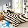 Двуспальный комплект постельного белья из сатина МАЛИБУ (180*220)