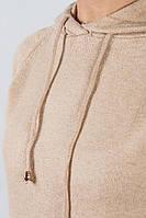 Батник с капюшоном 723K001 (Бежевый)