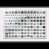 Большая печатная форма Konad № 4