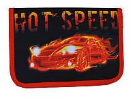 Пенал твердый Hot speed 1 отдиления 2 отворота + расписание SM-18132