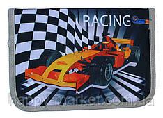 Пенал твердий Racing 1 отдиления 2 одвороту + розклад SM-18142 ж