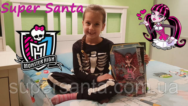 Распаковка самой популярной куклы Monster High Draculaura