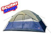 Палатка шестиместная Coleman 1500, двухслойная (размеры 390х220х180 см)