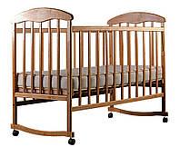 Кровать Наталка ЯБЛ-2 ясень без лака