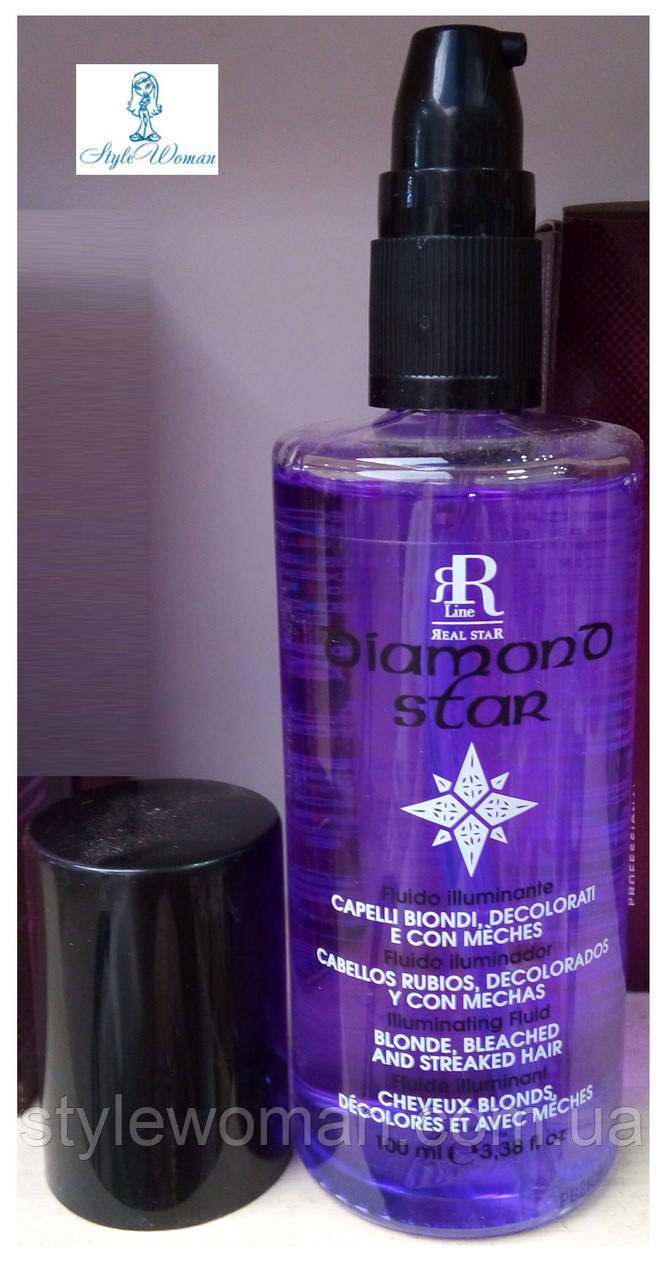 Флюид RR Line Diamond Star Illuminating Fluid для светлых, обесцвеченных, мелированных волос