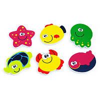 Набор игрушек для игры в ванной Морские обитатели Baby Mix GS-OS1