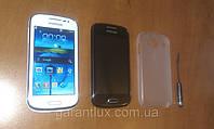Samsung Galaxy Ace i 8160 (Android 4 Wi-Fi 2 сим-карты) 4 дюймовый + стилус и чехол в подарок!
