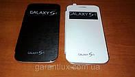 Samsung Galaxy S4 i9500 (2 сим карты) экран 5 дюймов +чехол-книжка в подарок!