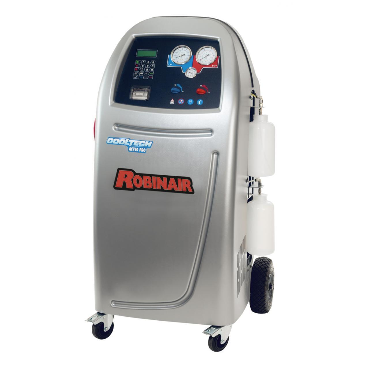 Оборудование для заправки кондиционеров автомобилей,автомат с принтером ROBINAIR  AC790PRO