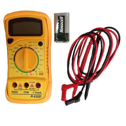 Мультиметр автомобильный TRISCO R-620D