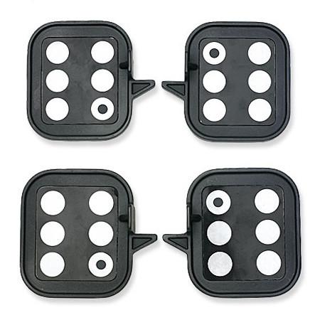 Комплект мишеней для измерения высоты посадки кузова автомобиля (только для 4-х камерных стендов)