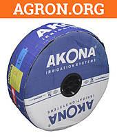 Капельная лента Акона Akona Drip Life 6 mil через 20 см 1,1 л в час бесшовная с жестким эмиттером 2 500 м