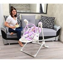 Детский стульчик-качели для кормления 3 в 1 CARRELLO Triumph CRL-10302, фото 3
