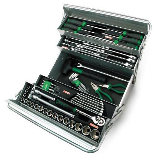 Ящик с инструментом (5 секций) 63 ед. TOPTUL GCAZ0039